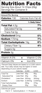 Nutrition-Facts-Multi-Grain-Pita-Chips